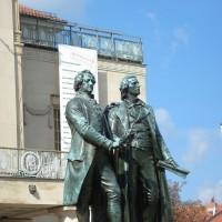 Monumento Goethe e Schiller - Weimar