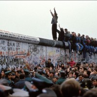 Muro di Berlino - foto d'archivio